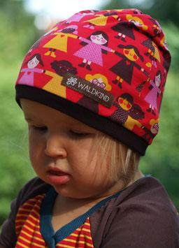 Jersey Mütze Kinder/Rot