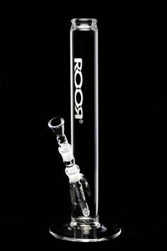 Roor Bong Black & White 3.5 - LOGO: BIANCO E NERO 18,8mm CON NOCCHE ICE E DIFFUSORE