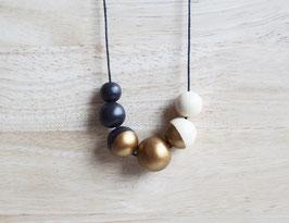 "round necklace ""umbra-bronze"""