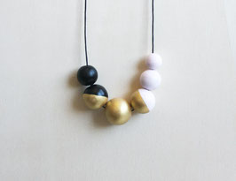 "round necklace ""rosy-gold"""