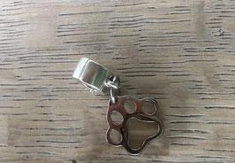 Pfote aus Edelstahl mit Verschluss der geöffnet werden kann Edelstahl glatt