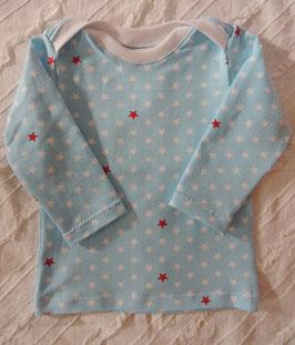 Baby Shirt - Schlupfhemd hellblau