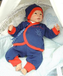 Baby Anzug Schiff ahoi, 3teilig