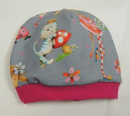 Jersey Mütze Prinzessin  Erstlingsmütze