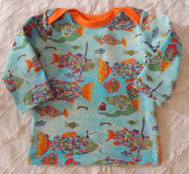 Baby Shirt - Schlupfhemd Regenbogenfische