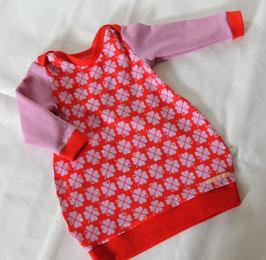 Jersey Kleid Glücksklee Gr. 86
