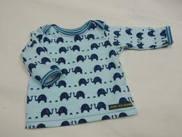 Baby Shirt - Schlupfhemd kleiner Elefant