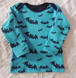 Cooles Baby Shirt - Schlupfhemd türkis