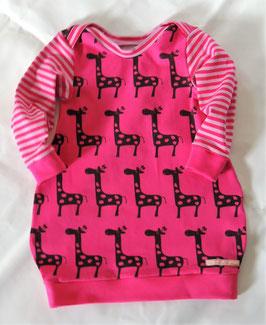 Jersey Kleid Giraffen Gr. 86