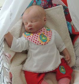 3er Set Mini Babylätzchen
