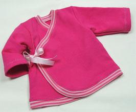 Wickeljacke pink