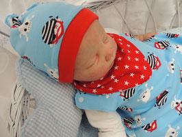 Bio Baby Mütze kleiner Pirat