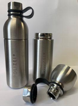 Isolierflasche aus Edelstahl im Polizeidesign
