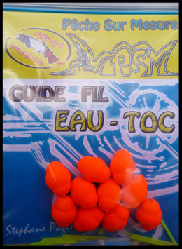 "Guides Fil  ""EAU - TOC ""   N°2    ORANGE FLASH"