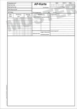 AP-Karte NRW, Format A4