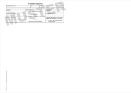 Fortführungsriss NRW, Format A3
