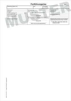 Fortführungsrisse NRW, Format A4