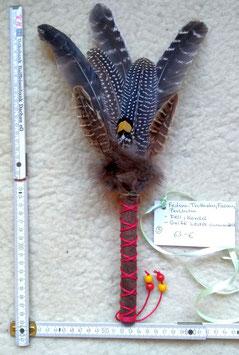 Handgefertigter Federfächer (Räucherfächer) Nummer 5