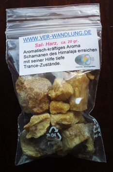 Sal - Harz, ca 20 gr. im PP-Beutel