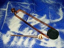 Kupferlöffel  -  Kupferzange