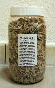 White Sage - Weißer Salbei - VORTEILSPACK -Lose in der Kunststoffdose - ca. 200 gr.