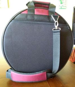 Trommeltasche für Schamanentrommeln / Rahmentrommeln bis zu einem Durchmesser von 40 cm, Tiefe 10 cm