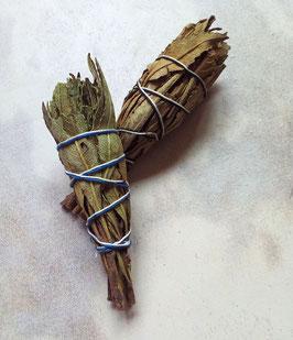 2 Stück - Yerba Santa -  Heiliges Kraut - Räucher-Stick, je ca. 10 x 3 cm, je ca.15 - 20 gr.