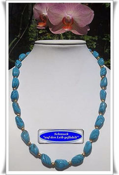 1325. Muranoglas-Perlenkette