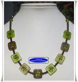 1342. grün-olivfarbene Polaris-Kette