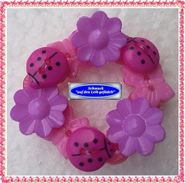 30) hübsches Haarband aus Knöpfen TS