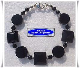 112) Onyx-Achat-Armband
