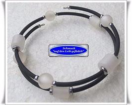 76) Memory Wire-Armbänder mit Polaris + Pyrit TS