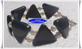 187) Onyx-Armband