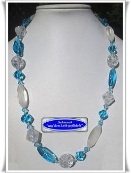 1485. schicke sommerliche Glasperlenkette