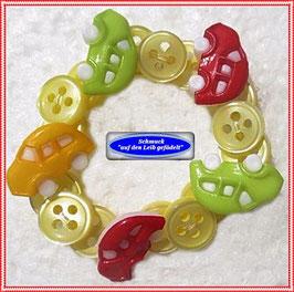 18) Jungen-Armband mit Auto-Knöpfen TS