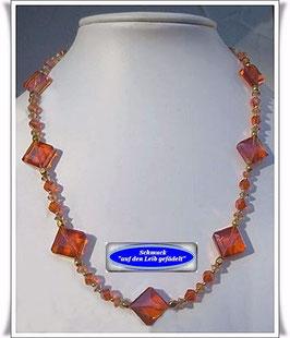 1169. Kristallglasperlen-Kette