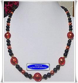508. Muranoglas-Perlenkette, Set