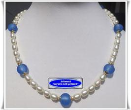 777. Muranoglas-Perlenkette