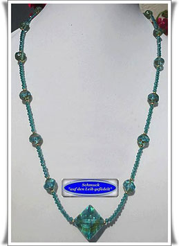 550. Muranoglas-Perlenkette