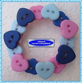54) niedliches Herzchen-Armband TS