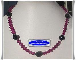 1542. elegante Swarovski-Perlenkette