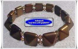 181) edles Glasperlen-Armband
