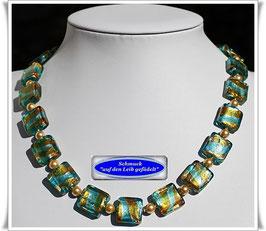 2010. elegante Muranoglas-Perlenkette