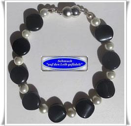 243) elegantes Obsidian-Armband