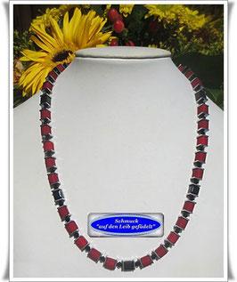 1400. rote Polaris-Würfelkette