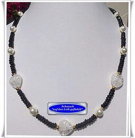 501. Onyx-Bergkristall-Kette