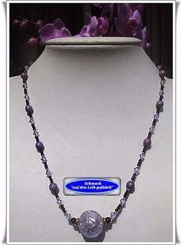 1056. Kette mit  Muranoglas-Perle