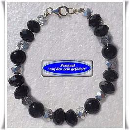 108) Onyx-Armband