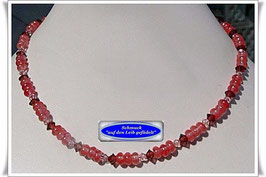 143. Cherry-Quarz-Collier