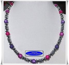 491. Silber-Pyrit-Polaris-Kette